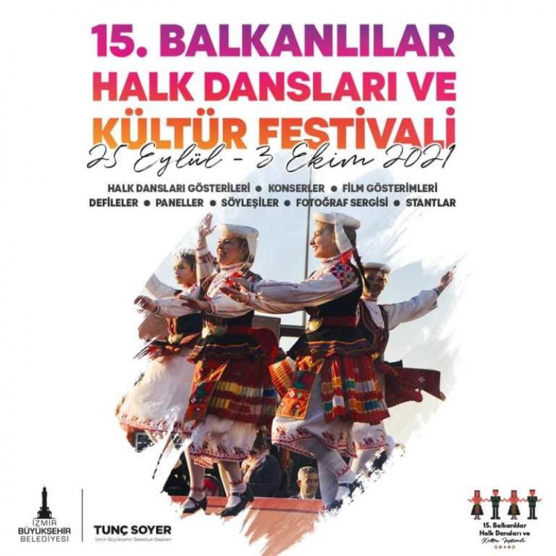 15th Balkan Folk Dances and Culture Festival Izmir Turkey
