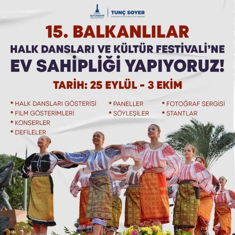 15. Balkanski festival folklora Izmir 2021