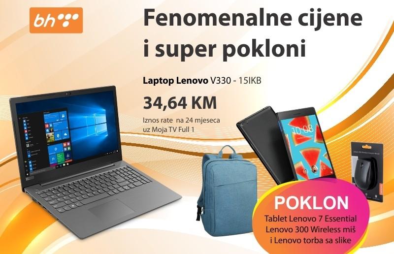 Fenomenalni pokloni uz kupovinu Lenovo laptopa!