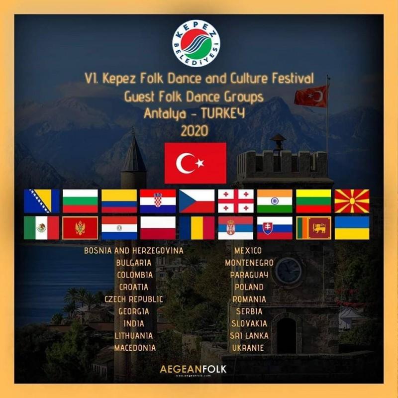 Gostovanje ansambala u Republiku Tursku