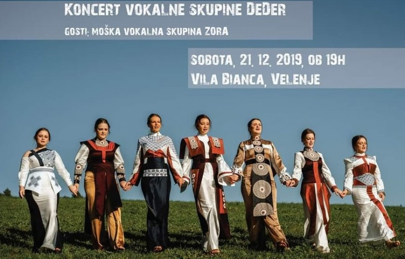 Guest performance of the male vocal group ZORA from KUD Baščaršija in the Republic of Slovenia