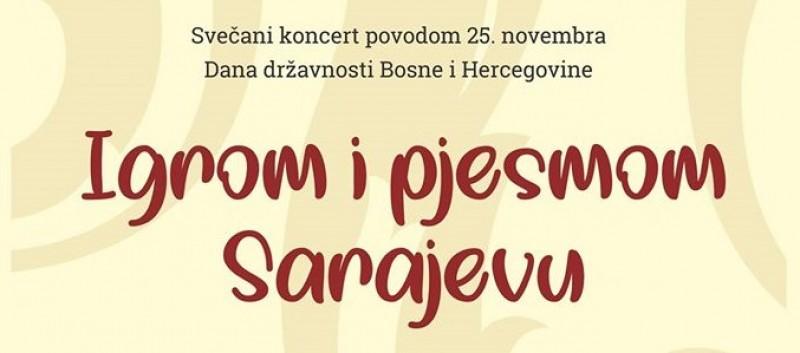 Svečani koncert SAKUD Kantona Sarajevo