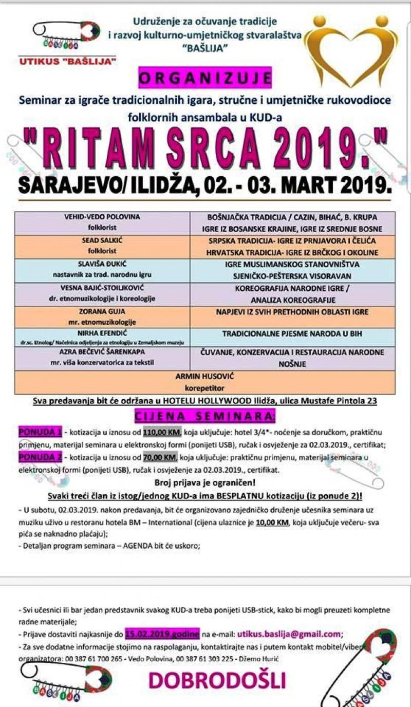 "SEMINAR FOLKLORA ""RITAM SRCA"""