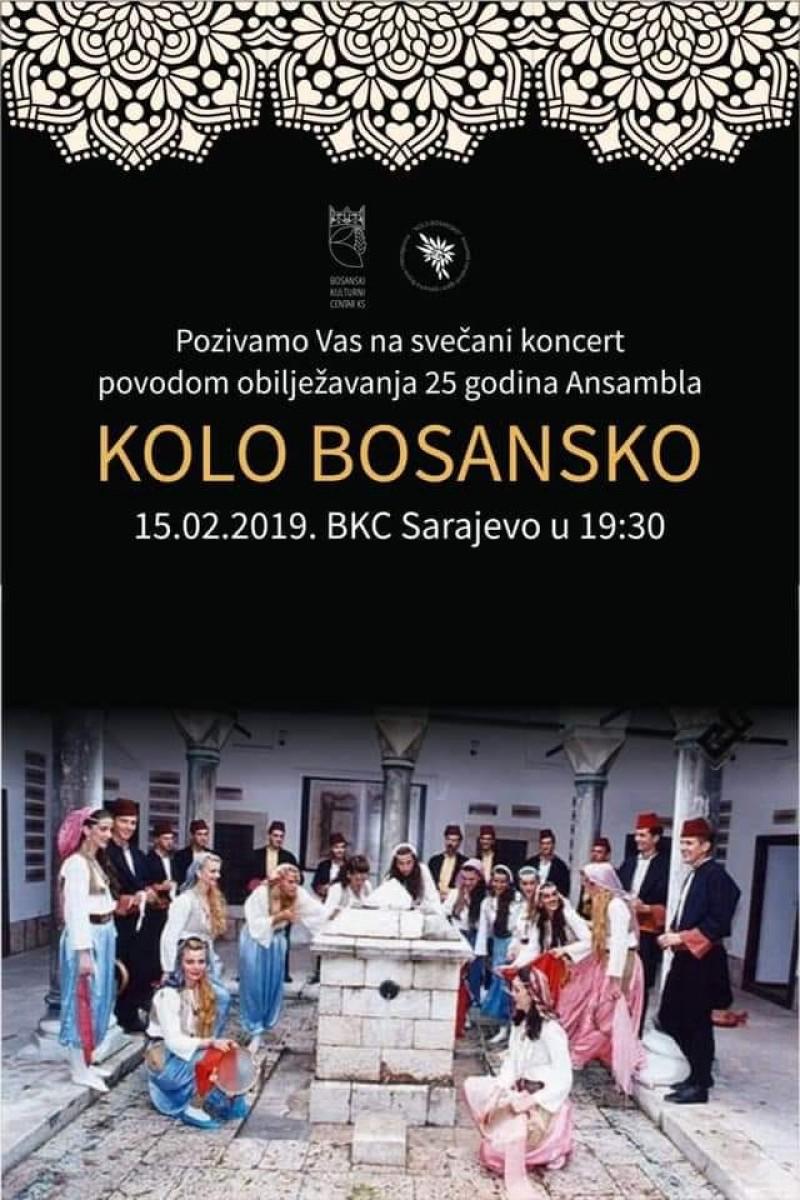 """Koncert ansambla """"Kolo Bosansko"""""""