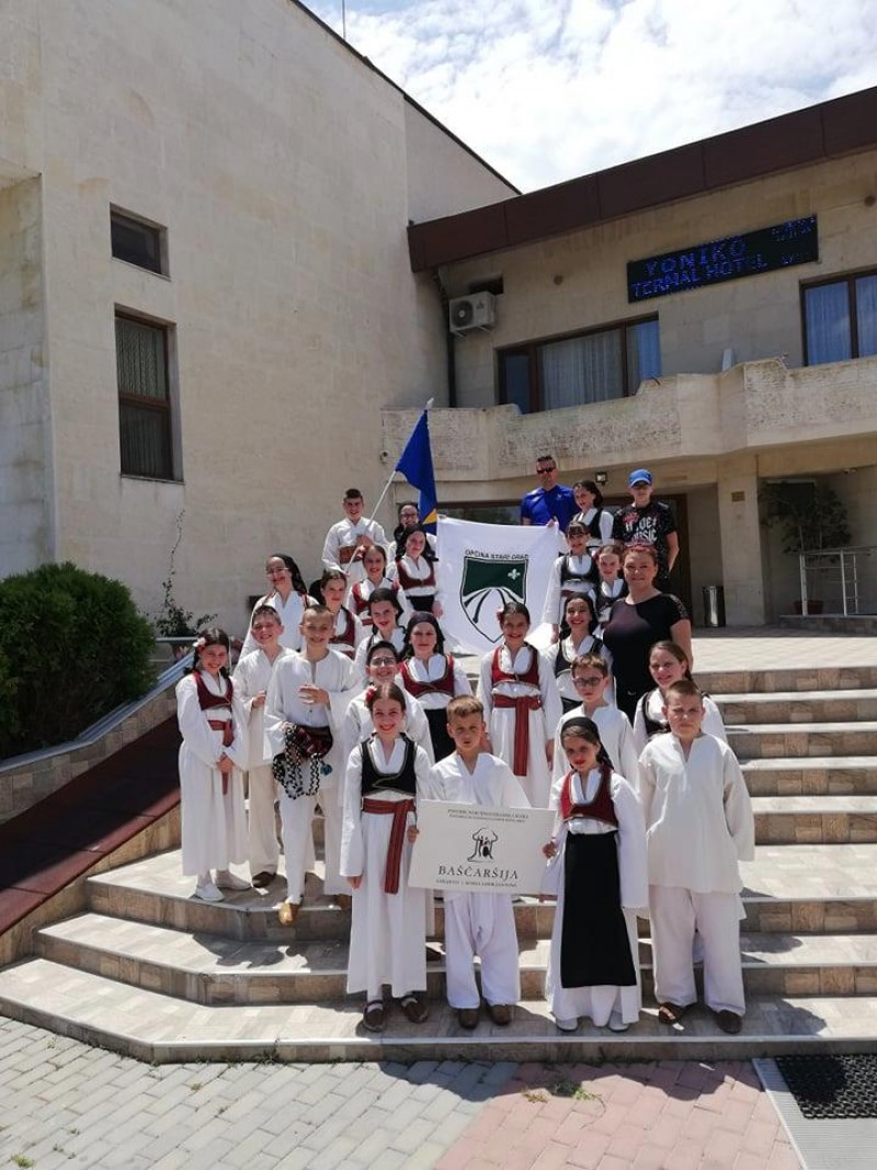 CHILDREN'S FOLKLORE ENSEMBLE WON 3rd PLACE AT FESTIVAL IN BULGARIA