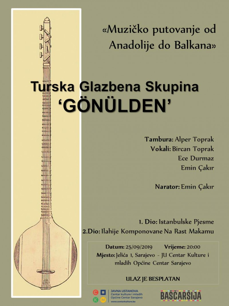 Musical journey from Anatolia to the Balkans
