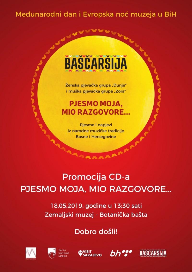 Promocija CD-a Pjesmo moja, mio razgovore...
