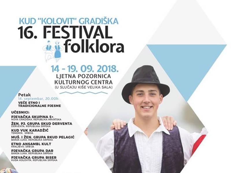 """Baščaršija na festivalu folklora """"Gradiška jesen"""""""